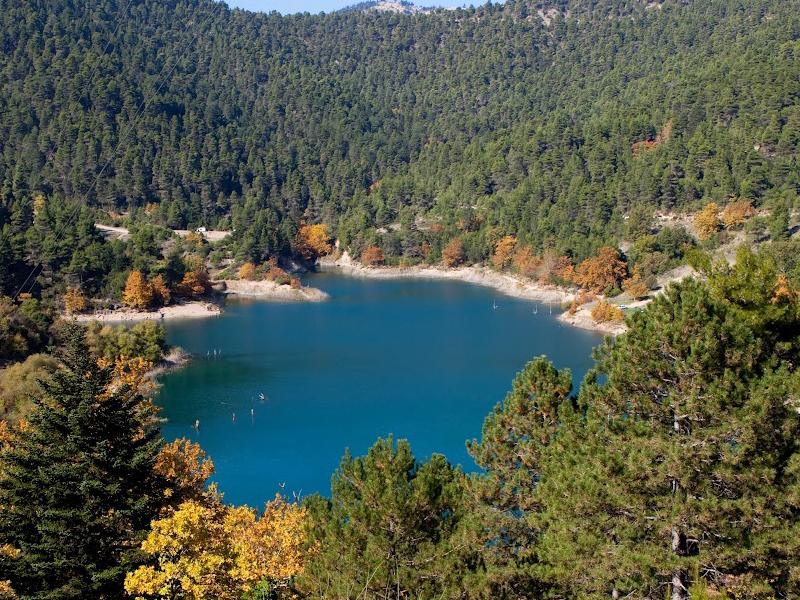 Ζαρούχλα λίμνη Τσιβλού